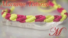 How to make macrame easy Bracelet tutorial