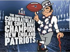 Celtics congratulating My Pats
