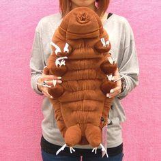 love-journey: Ramazzottius varieornatus (Yokozuna) XL size: Water bear / Tardigrade - Purchase now to accumulate reedemable points! Tardigrade, Microscopic Photography, Cotton Crafts, Plushies, Softies, Bear Toy, Plush Animals, Journey, Diy Stuffed Animals