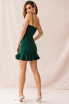 Apr 2020 - Shop the Emoji Bodycon Mini Dress Forest Green Cute Concert Outfits, Cool Outfits, Sexy Dresses, Short Dresses, Underwear Pics, Winter Formal, Complete Outfits, Courses, Celebrity Pictures