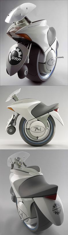 Embrio One-Wheeled Concept