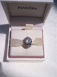 Pandora Charm Stunning Authentic Floral by JEWELSELAGANT on Etsy, $45.00