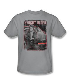 Loving this Silver 'Knight Rider' Tee - Adult on #zulily! #zulilyfinds