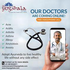 Healthy Life, Healthy Living, Allergy Asthma, Online Video, Ayurveda, Arthritis, No Worries, Slot