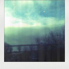 Just light 🌥️ #vintage #retro #polaroid #sea #seaside #swamp #hollidays #sky #clouds #skyline #horizon #sunrise #sunset #daylight #skyporn #shadows #light #trees #water #river #riverside #witch #december #solstice #winter