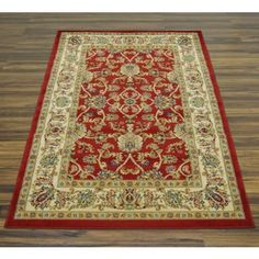 Heritage Rug - Red - 120 x 170cm at Homebase -- Be inspired and make · Door MatsBe ... & Alexia Cylinder Shade - Red-homebase | Morrocan room | Pinterest ... pezcame.com