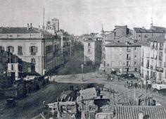 Puerta del Sol, 1857 - Portal Fuenterrebollo