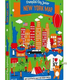 Kids Crumpled City Map