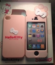 Hello Kitty iPhone Case....I love this one with the white bow on the top!