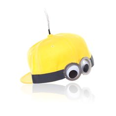 You can't be avoided in this Minions hat by Piers Atkinson. | Minions Bello Yellow Collection | See Minions in theaters July 10th.