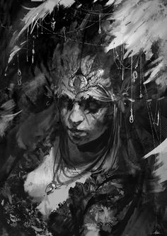 sketching by aaron griffin Spectrum The Best in Contemporary Fantastic Art Aaron Griffin, Character Illustration, Illustration Art, Horror, Painting & Drawing, Character Art, Character Concept, Fantasy Art, Design Art