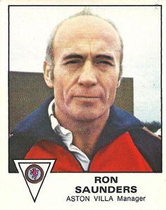 Ron Saunders Aston Villa Fc, Birmingham England, Best Club, World Football, West Midlands, World History, Memories, Sports, Trading Cards