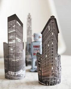 City Lights Skyscraper Votives
