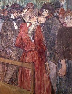 Henri Toulouse Lautrec - Au Moulin de la Gallette