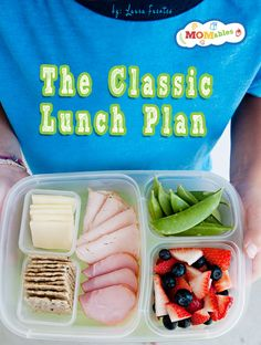 MOMables classic lunch plan - fresh and healthy school lunch ideas every day
