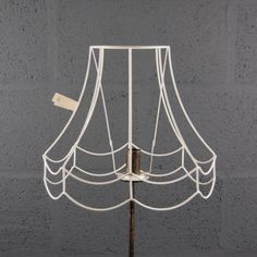 New wire lampshade frame 18 circular drum wine cafe hot desk 12 double scollop wire lampshade lamp shade frame keyboard keysfo Choice Image