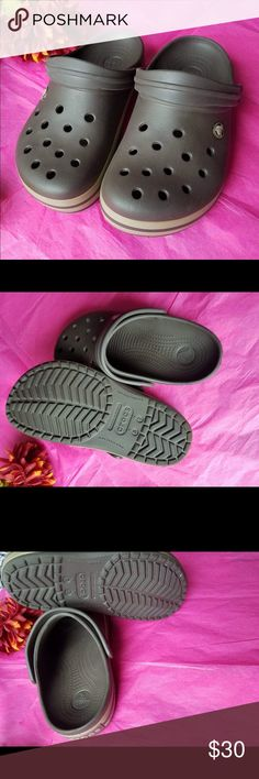 Croc crocband size 7 best offers welcome Croc crocband size 7 best offers welcome Special edition Like new  I've got a lot more in size 7  Just ask me too guide you if you have trouble finding them all Like CHINESE LAUNDRY ,crocs, uggs, juicy couture and coming soon FREEBIRD  ALWAYS CHECK OUT MY COMING SOON POST IN MY CLOSET TOO SEE WHATS UP NEXT   I do my best to collect designer clothing and accessories from the latest to vintage  Giving out the best deals that can be made Be sure to check…