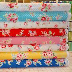 Tikki Patchwork and quilt fabric shop in London UK - Fat Quarters ... : quilt fabric shops uk - Adamdwight.com