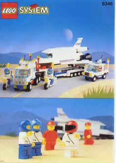 Town - Shuttle Launching Crew [Lego 6346]