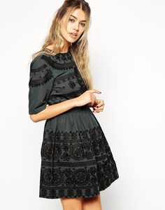 ASOS+Premium+Mini+Dress+with+Russian+Doll+Embroidery