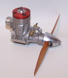 Very Nice CS 049 Glow Control Line Racing Model Airplane Engine W Tuned Pipe | eBay