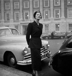 November 1948 by dovima_is_devine_II, via Flickr