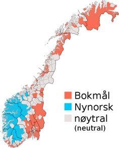 Норвежский язык — Википедия