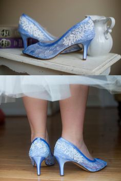Lace wedding shoes peep toe high heels sheer lace embellished with a beaded floral trim