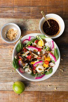 Roedjak (hartige Indonesische fruitsalade)