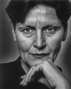 Reinhild Hoffmann (1943) - German choreographer and dancer. Photo © Rita Antonioli