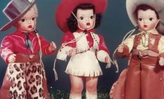 Terri Lee Dolls - made in Apple Valley, CA in the 50s.  We had Terri Lee, Jerry Lee, and Linda Lee at our house, and we spent many happy hours playing with them.