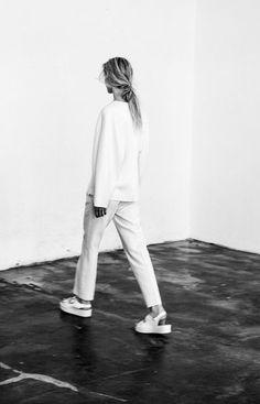 Simplicity - minimalist tailoring, minimal fashion editorial // Ph. Marcello Arena for REVS