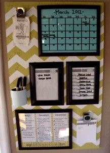 Organization Board Tutorial! - I think I'll hang directly on wall...skip the painted ply wood.