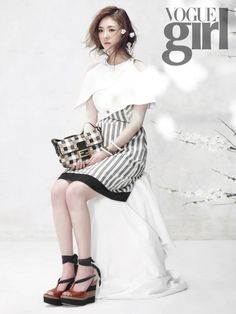 SNSD's Yoona, Shin Se Kyung, and Lee Yeon Hee on the Cover of Vogue Girl Korea March 2012