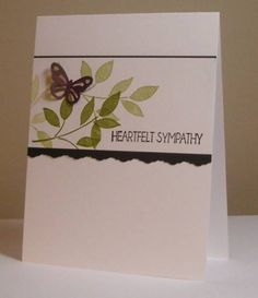 FS289 - Sympathy by LynniePoo - Cards and Paper Crafts at Splitcoaststampers
