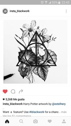 ◾please be active ◾blackink illustrations only ✒ ◾my account: ◾ for a feature chance Harry Potter Artwork, Harry Potter Drawings, Harry Potter Wallpaper, Time Tattoos, Body Art Tattoos, Sleeve Tattoos, Harry Potter Tattoos Sleeve, Tatoos, Ps Wallpaper