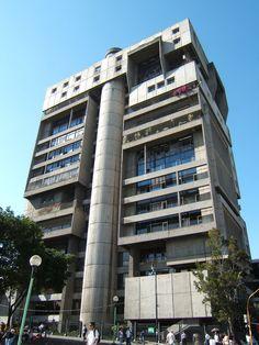 Edificio de la CCSS, San Jose, Costa Rica. Arquitectura brutalista.