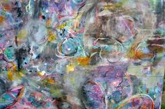 Detail of Blooming Universe by Lisa Sypher