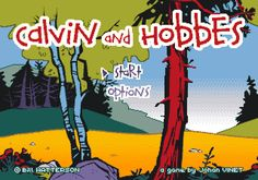 calvin and hobbes video game