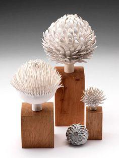 Ceramics by Linda Southwell.