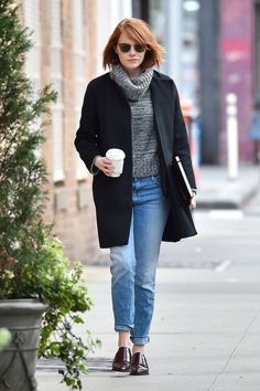 We're taking all our winter style tips from Emma