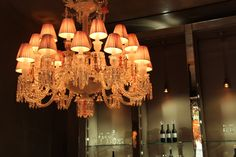 The Studio Harrods visits Baccarat -  Chandelier