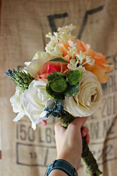 DIY Wedding Bouquets - step by step guide.