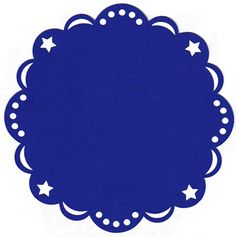 Free SVG – Star Background - maybe for grad party doily? If red, white & blue theme.