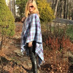 Cape - 100% Lambswool. The World Peace tartan is fast becoming the iconic symbol of peace.  Make sure you spread the word with this beautifully soft and warm lambswool cape, and show your Scottish pride in a fashionable way. www.scottishcreations.com