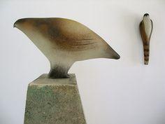 "Design: Jane Rosen - Executed by: Ross Richmond - ""Quail Bird"""