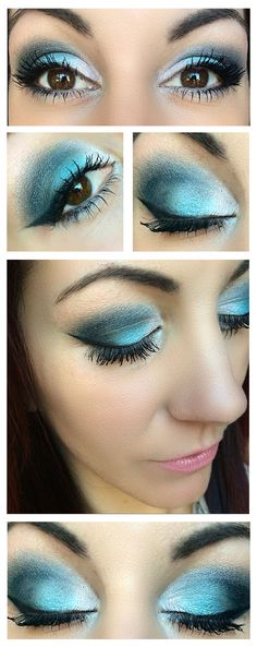 Create this gorgeous look with Younique's Moodstruck Mineral Pigments! Curious, Heavenly & Devious! #eyemakeup #makeupideas #beautifulmakeup