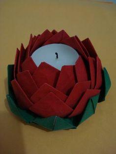 Origami by Graz! e Yann: Flor de Lótus