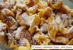 Túrós császármorzsa Heyy konyhájából