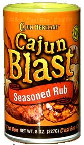 Cajun Blast Seasoned Dry Rub